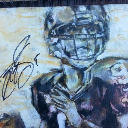Drew (Signed Drew Brees)-email for price