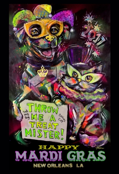 2017 Carnival Poster Painting-email for price